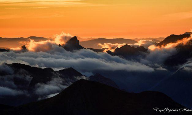 Bivouac au sommet du Pic d'Ossau (2884m)