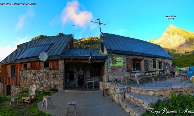 Randonnée refuge des Estagnous (2246m)