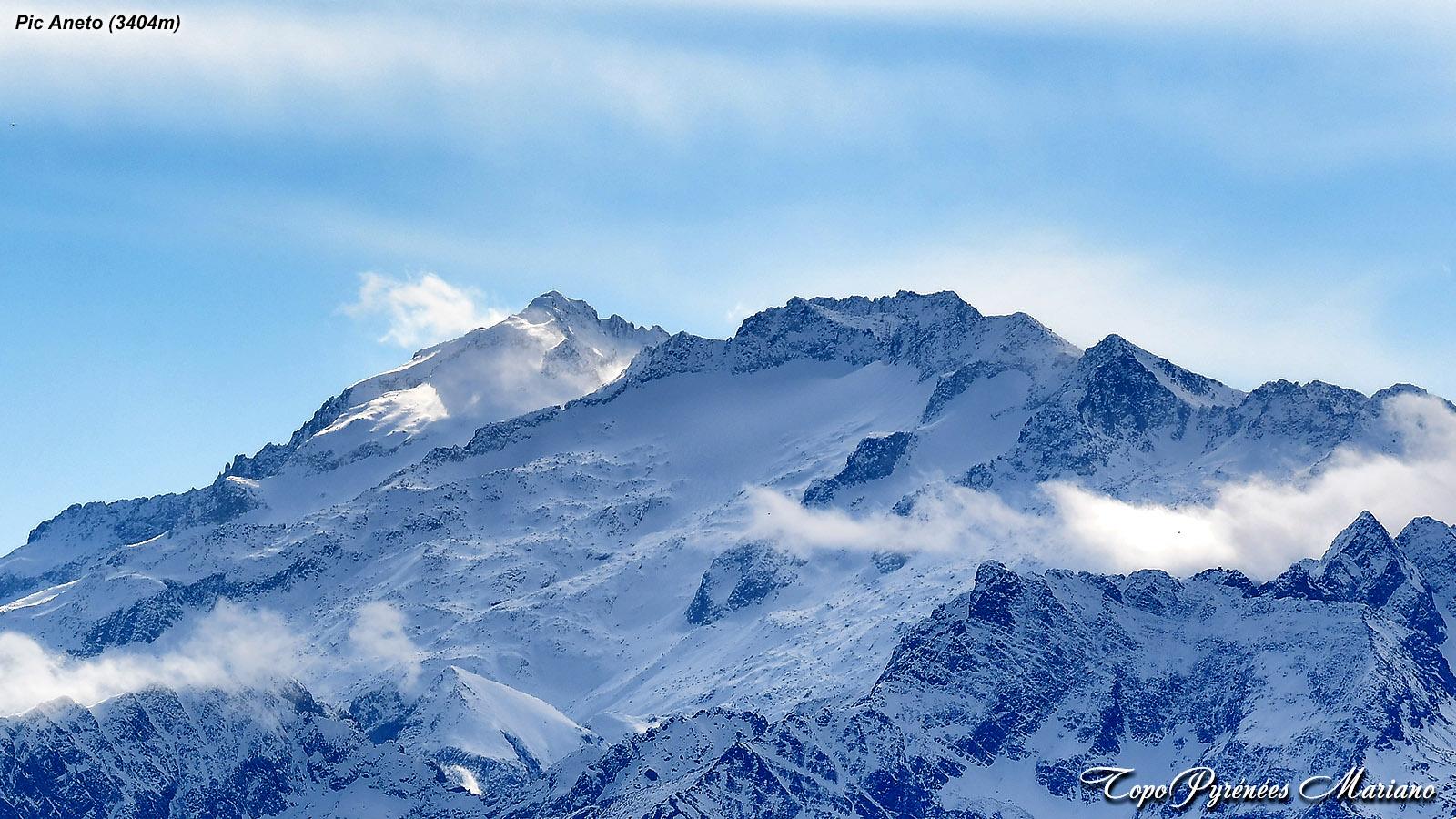 Randonnée Montagne d'Areng (2079m) et Pic de Mont Aspet (1849m)