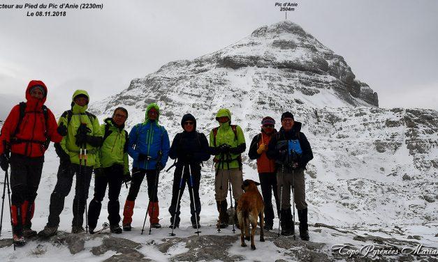 Sortie hivernale au Pic d'Anie (2504m)
