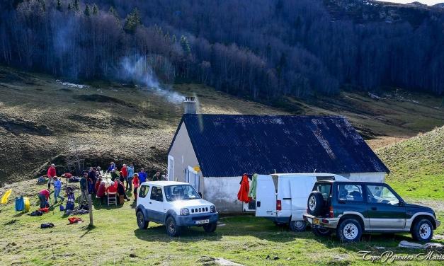 Randonnée à la cabane d'Arrioutort (1564m)