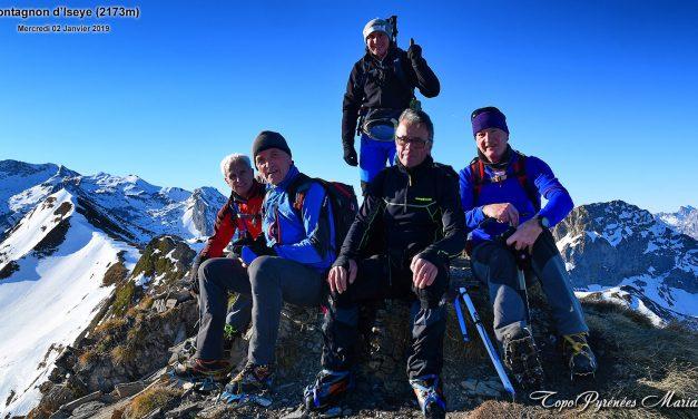 Complément Photos sortie hivernale au Montagnon d'Iseye (2173m)