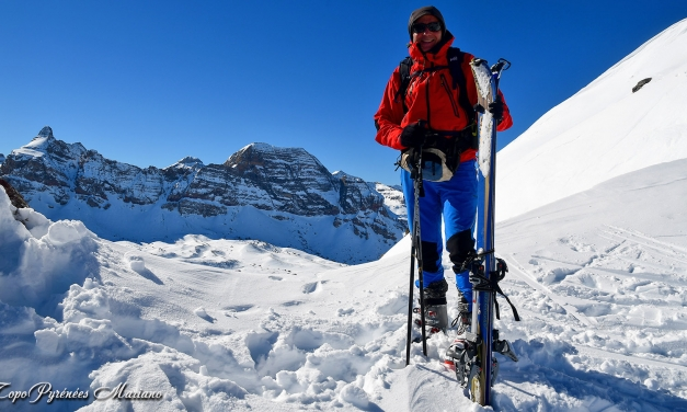 Skirando au Pic Culivillas (2528m)