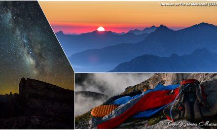 Bivouac au Pic de Mouscaté (2232m)