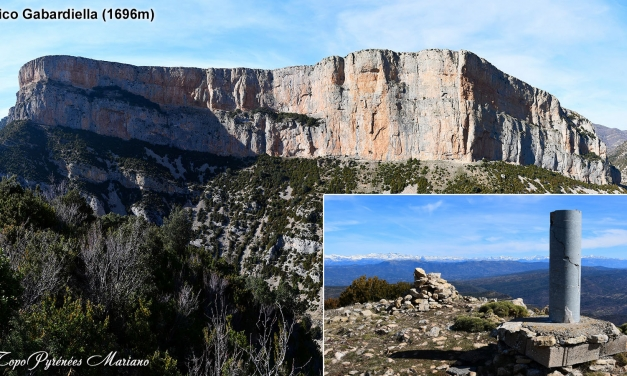 Randonnée Pico Gabardiella (1696m) en boucle par le col de Los Paúles