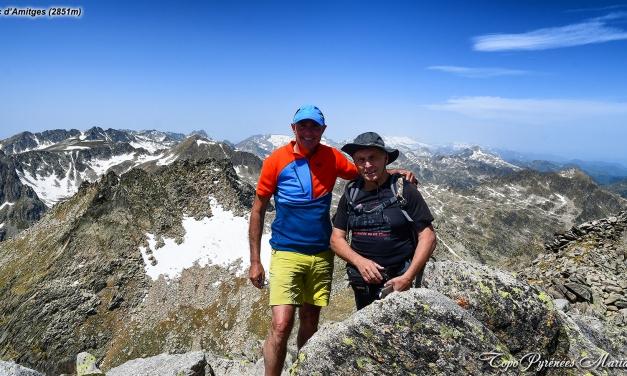 Randonnée Pic d'Amitges (2851m) depuis la vallée de Bonaigua