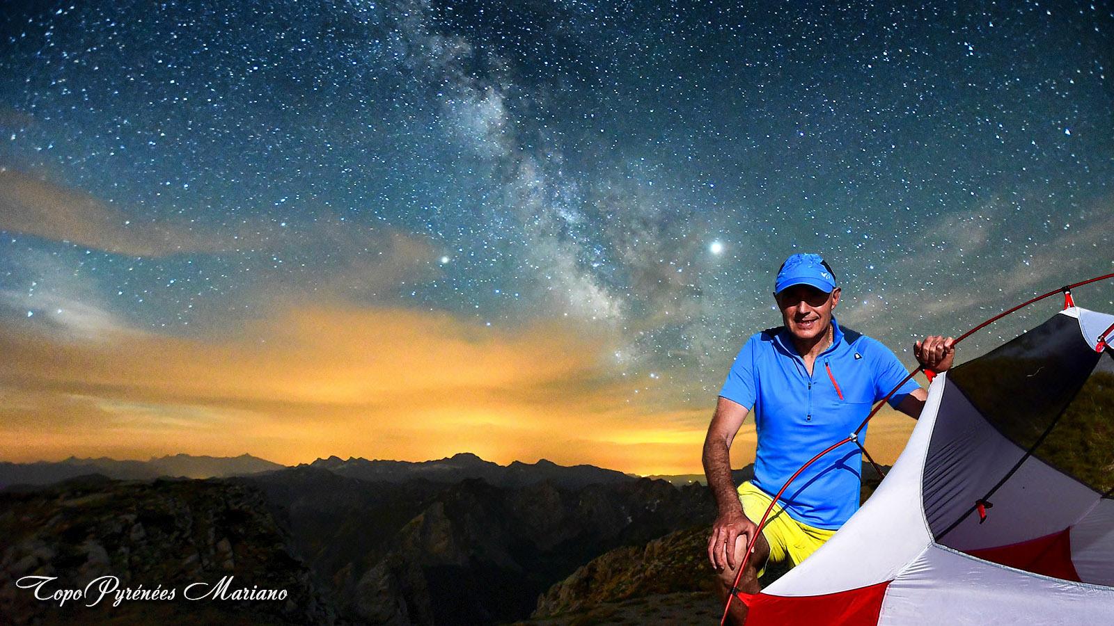 Bivouac au sommet du Grand Billare (2318m)