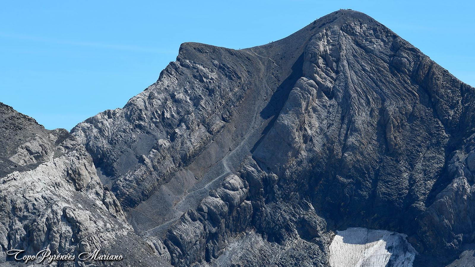 Randonnée au Mont Perdu (Monte Perdido) 3355m depuis le col des Tentes