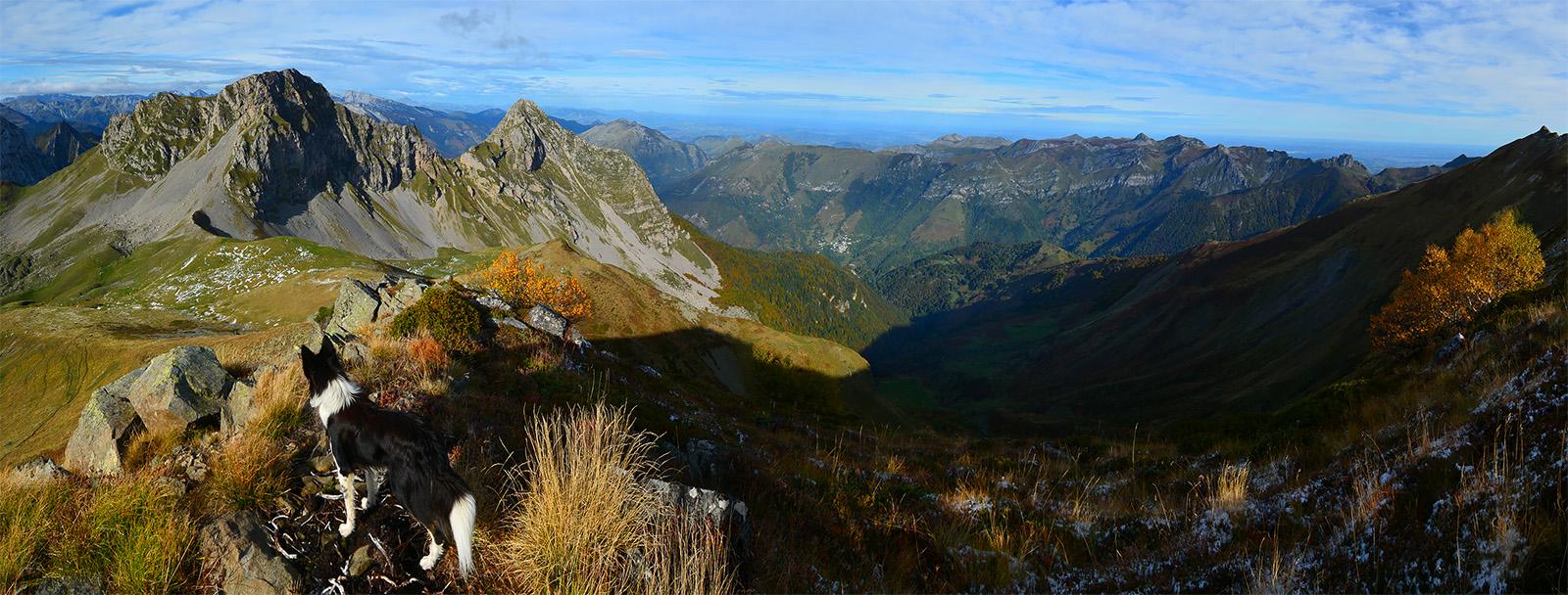 Panoramas circuit la Marère (2221m)