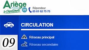 Informations routières 31 (Ariège)