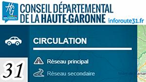 Informations routières 31 dans le Luchonnais (Haute-Garonne)