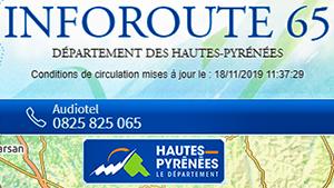Informations routières 65 (Hautes-Pyrénées)