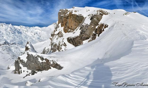 Raquettes au Pic Baldetosas ou petit Peyrelue (2250m)
