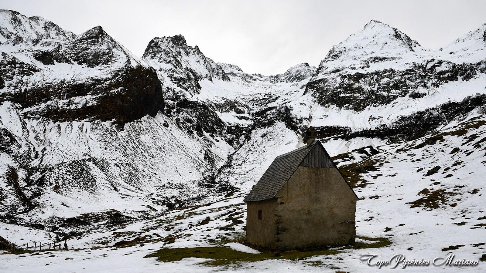 Randonnée à la cabane d'Ourtiga (1600m)