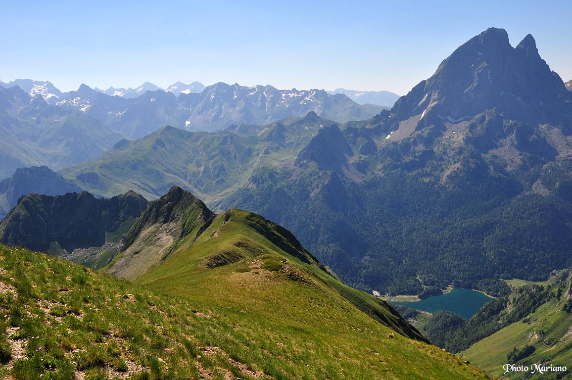 Randonnée Lac d'Er 1764m – Pic d'Aule 2392m et Pic d'Aulère 2279m