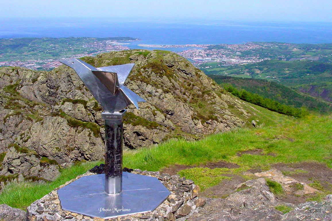 Randonnée Pics Irumugarrieta 806m et Txurrumurru 826m