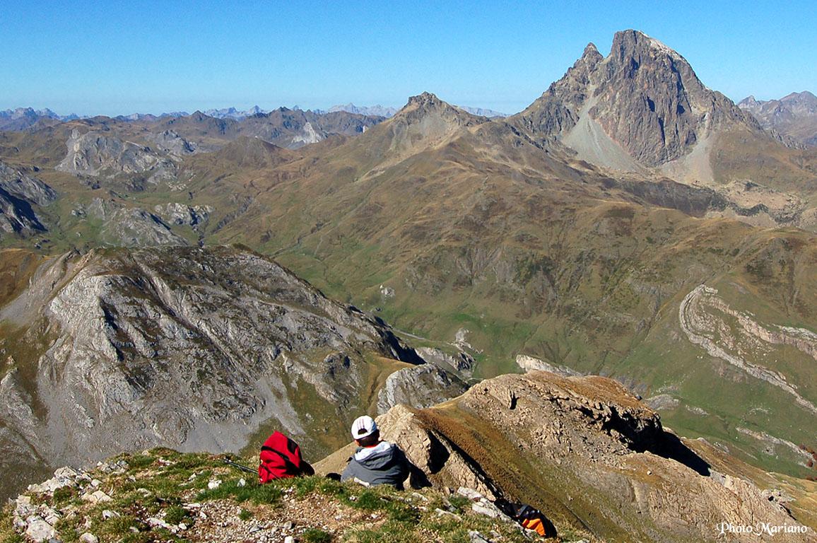 Randonnée Pic de Peyrelue 2441m