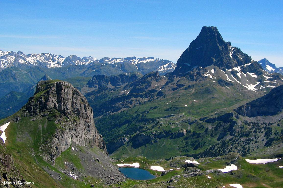 Randonnée Pic des Moines 2349m et Pic Castérau 2227m