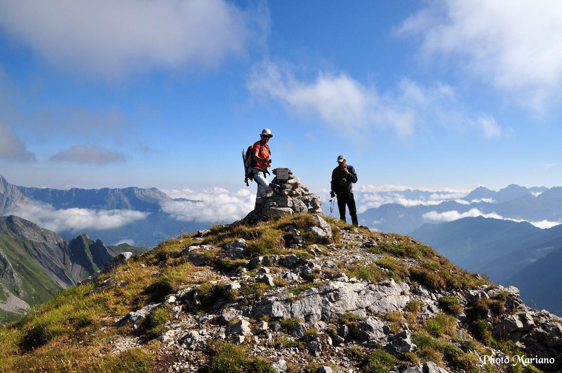 Randonnée Pics de Burcq 2105m – Marmida 2076m – Lariste 2168m