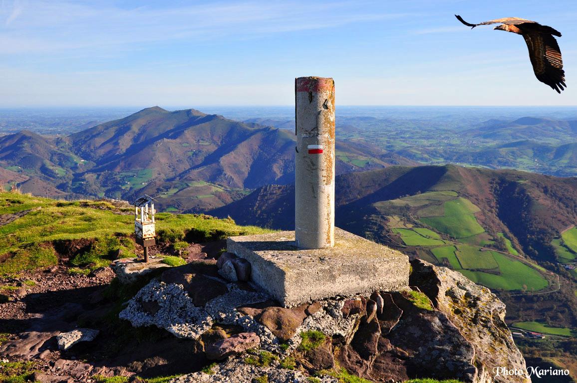 Randonnée Pic d'Iparla (1044m) en boucle
