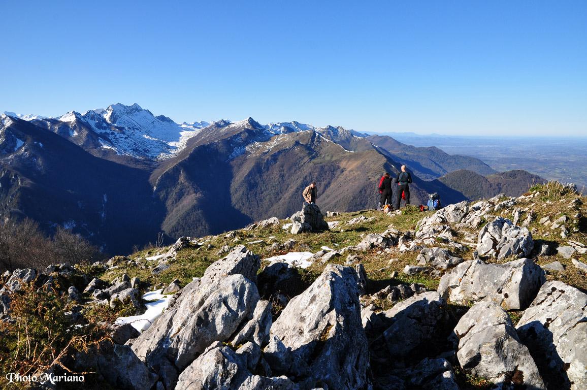 Randonnée Pic de Monbula 1583m