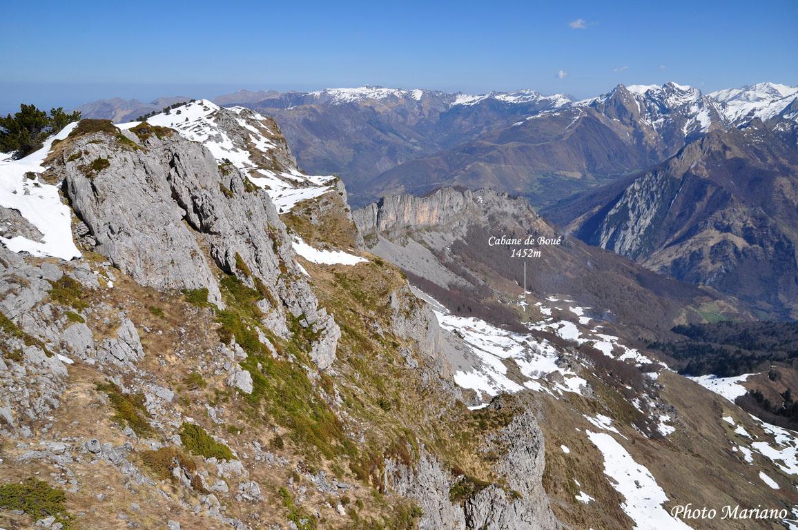 Randonnée Pic Oueillarisse 1979m