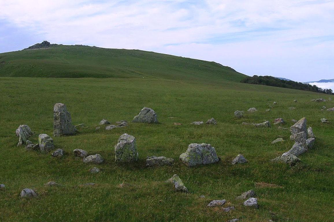 Randonnée les Cromlechs d'Occabe 1382m