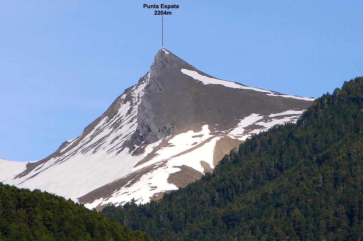 Randonnée Punta Espata 2204m