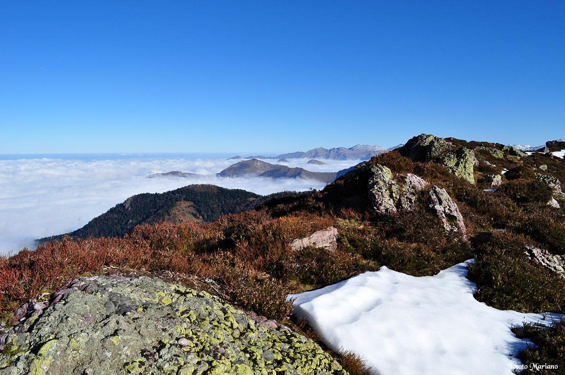 Randonnée Pic d'Igountze 1387m et Pic d'Issarbe 1565m