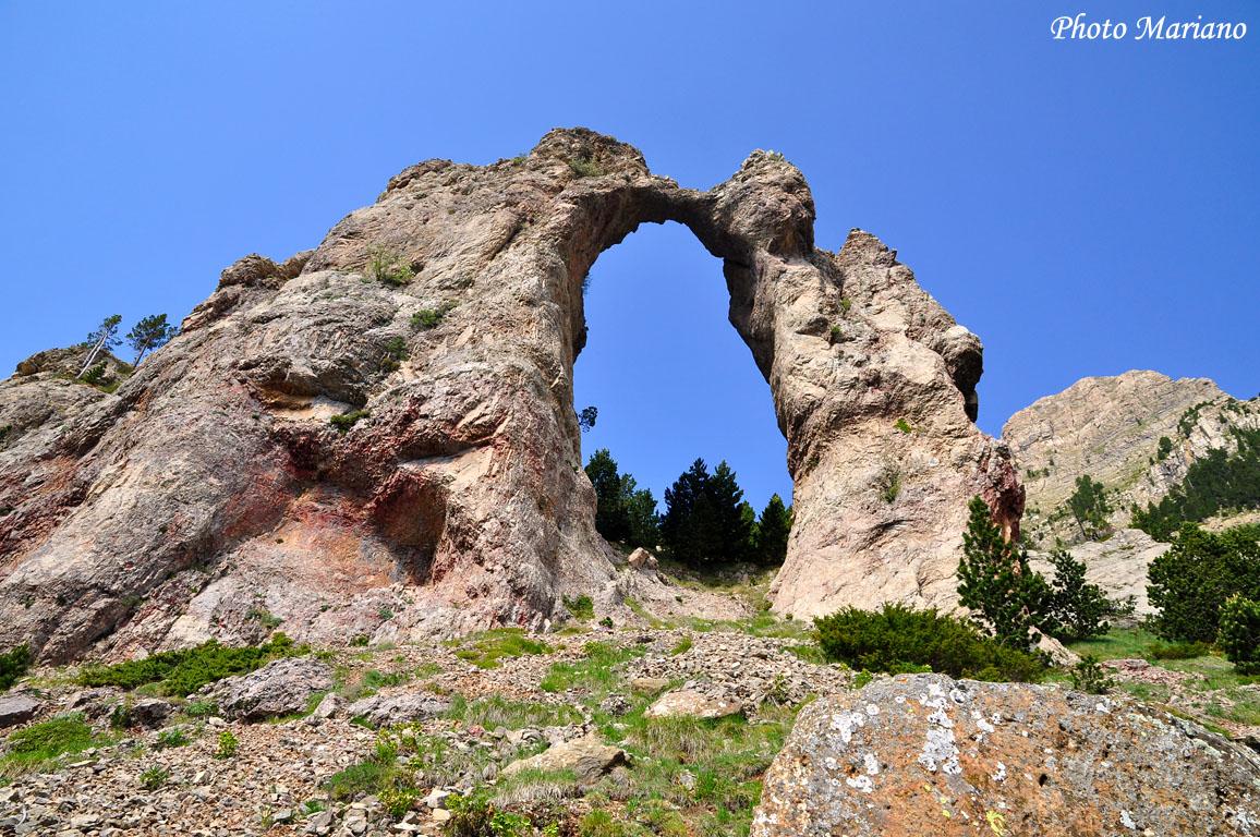 Randonnée à l'Arche de Sarronal ou Arco de Piedrafita (1860m)