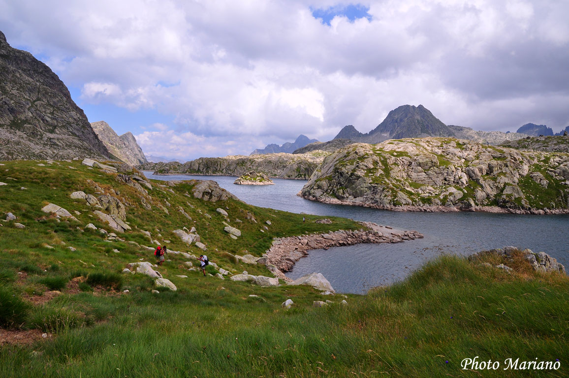 Traversée des Pyrénées 20em Etape (Refuge d'Anglios-Lac de Rius)