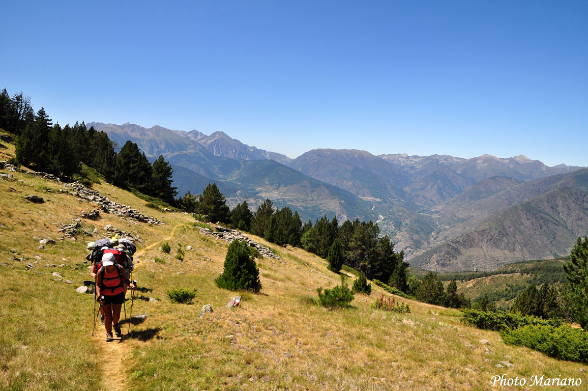 Traversée des Pyrénées 23em Etape (Camping d'Espot – Camping Ribera)