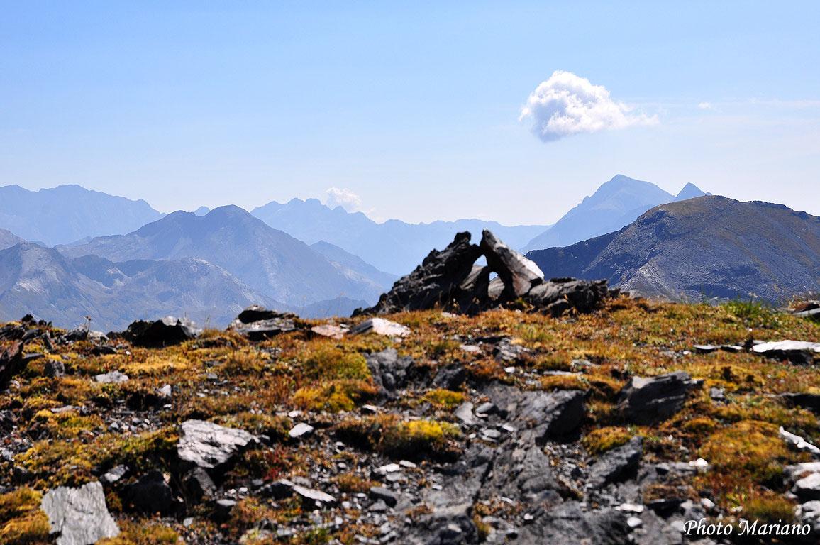 Randonnée Col de la Géla 2706m par le col de la Sède
