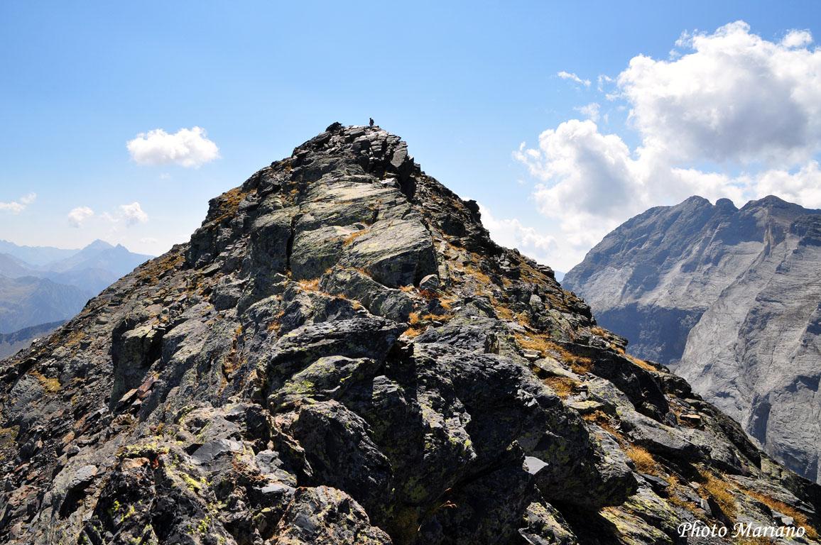 Randonnée Pic de la Géla 2851m en boucle par les crêtes