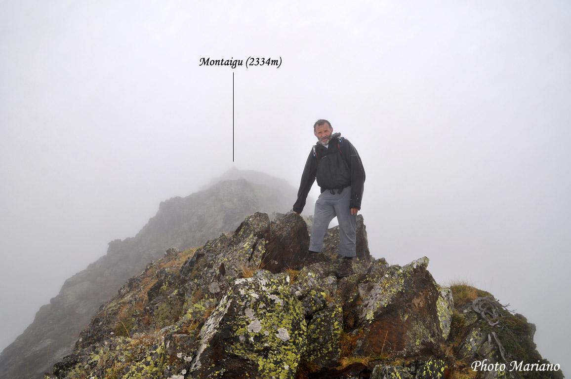 Randonnée Pic de Montaigu 2339m par les crêtes depuis Hautacam