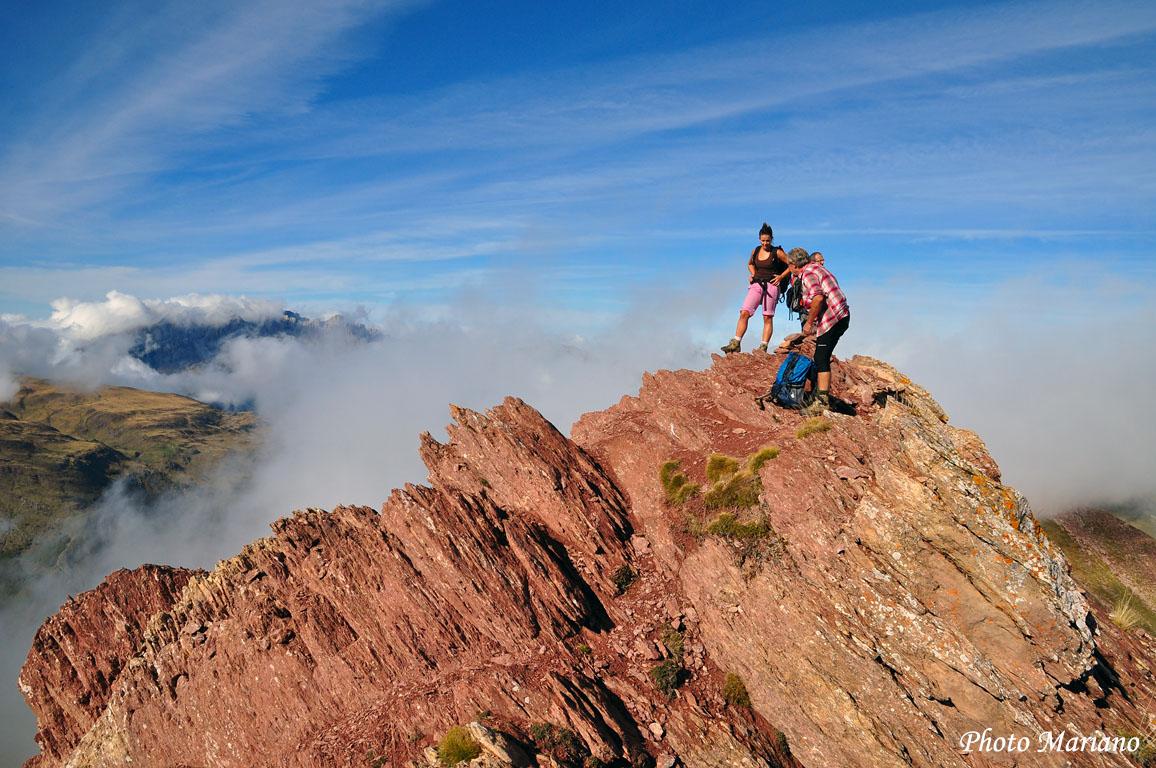 Randonnée Pic Rouge (Vallée d'Aspe) 2177m