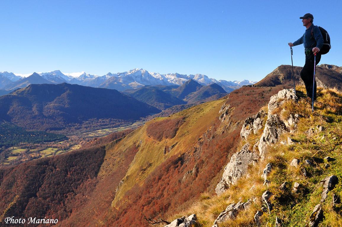 Randonnée Soum du Prat du Rey (1526m) et Soum d'Andorre (1683m)