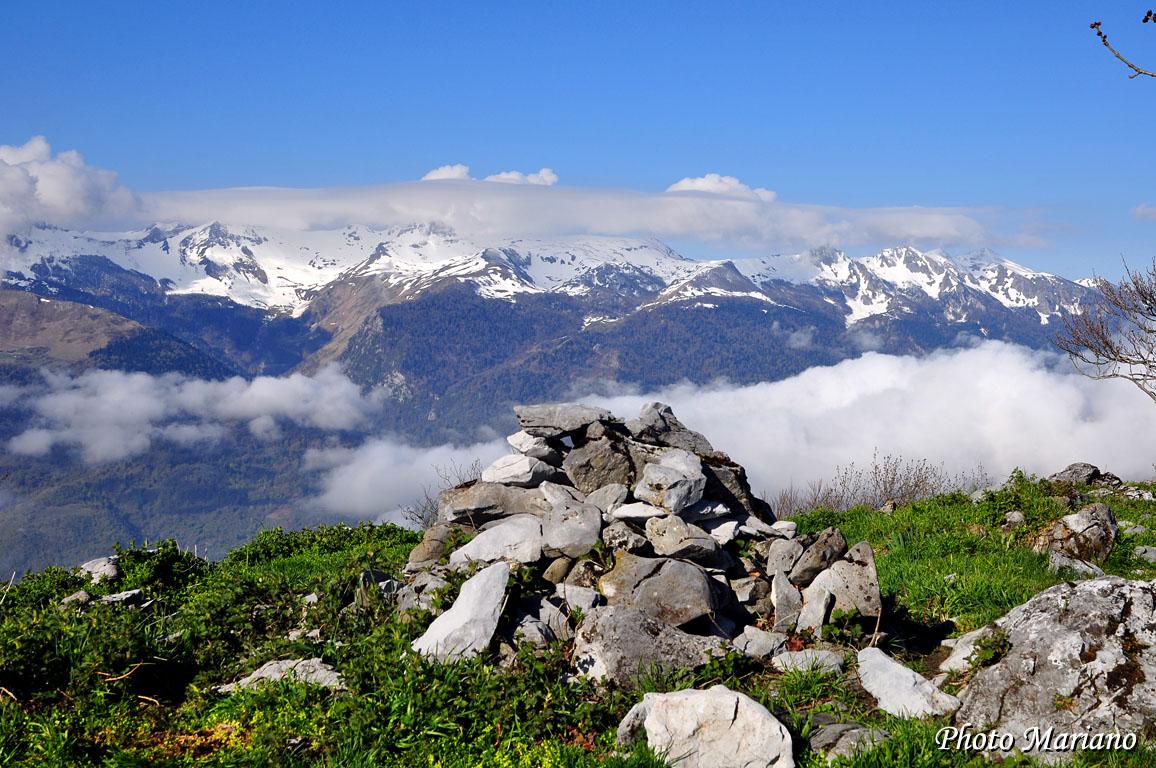 Randonnée Montagne du Rey 1349m par le versant Nord