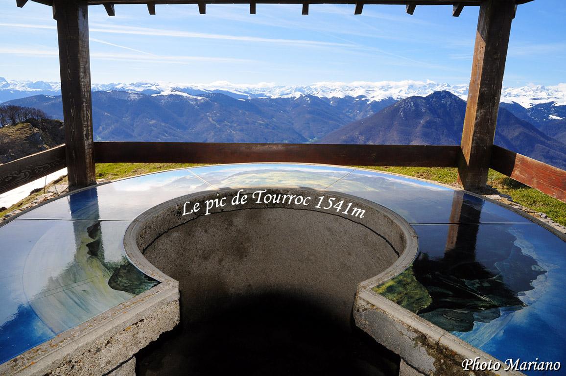Randonnée Pic de Tourroc 1541m