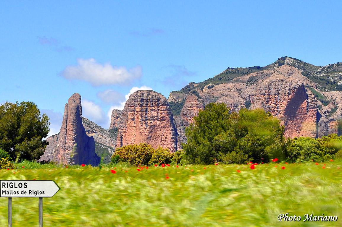 Randonnée aux Mallos de Riglos (1128m)