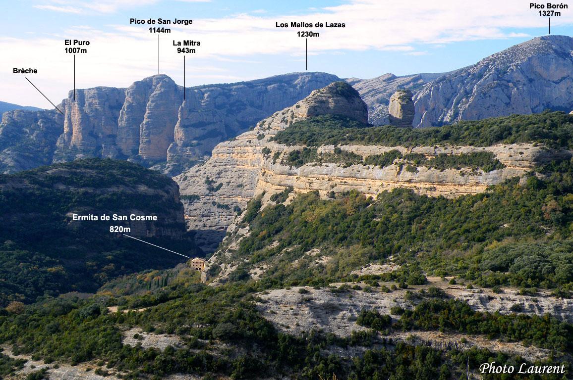 Randonnée Ermitages de Vadiello (960m)