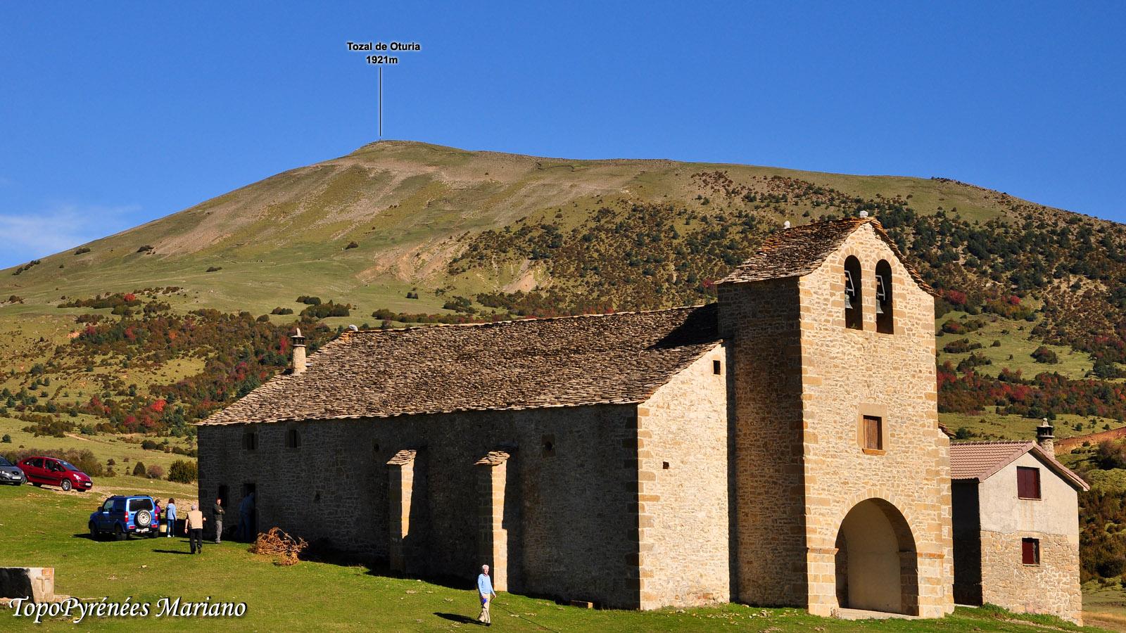 Sentier des Ermitages Yebra de Basa (1550m)