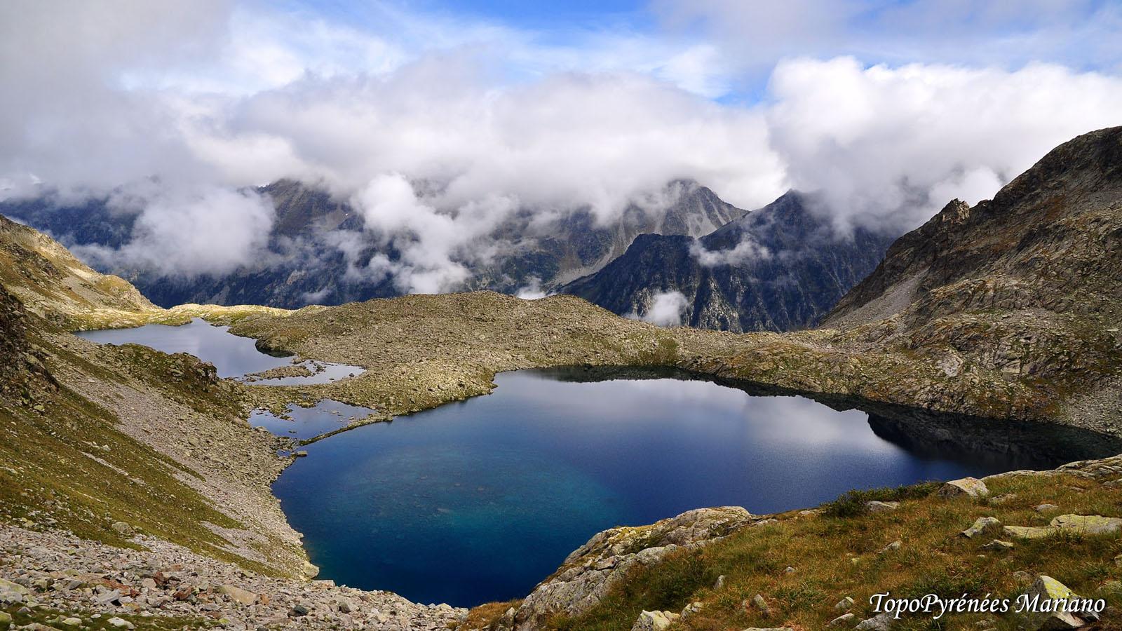 Randonnée les lacs d'Estibe Aute (2324m)