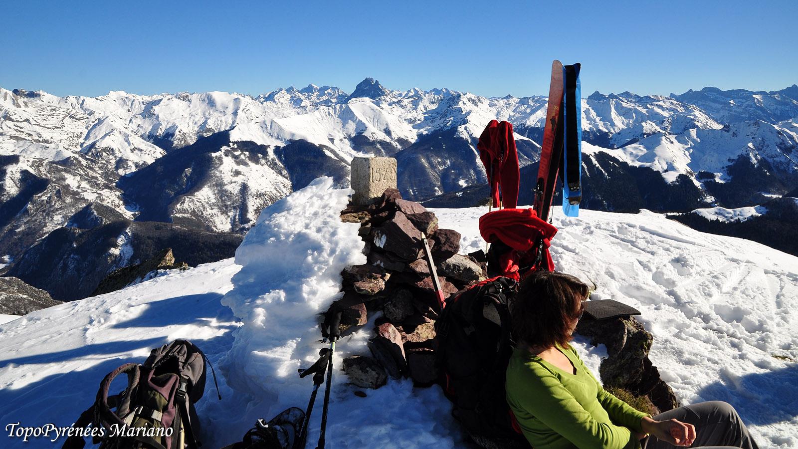 Raquettes Pic Labigouer (2175m)