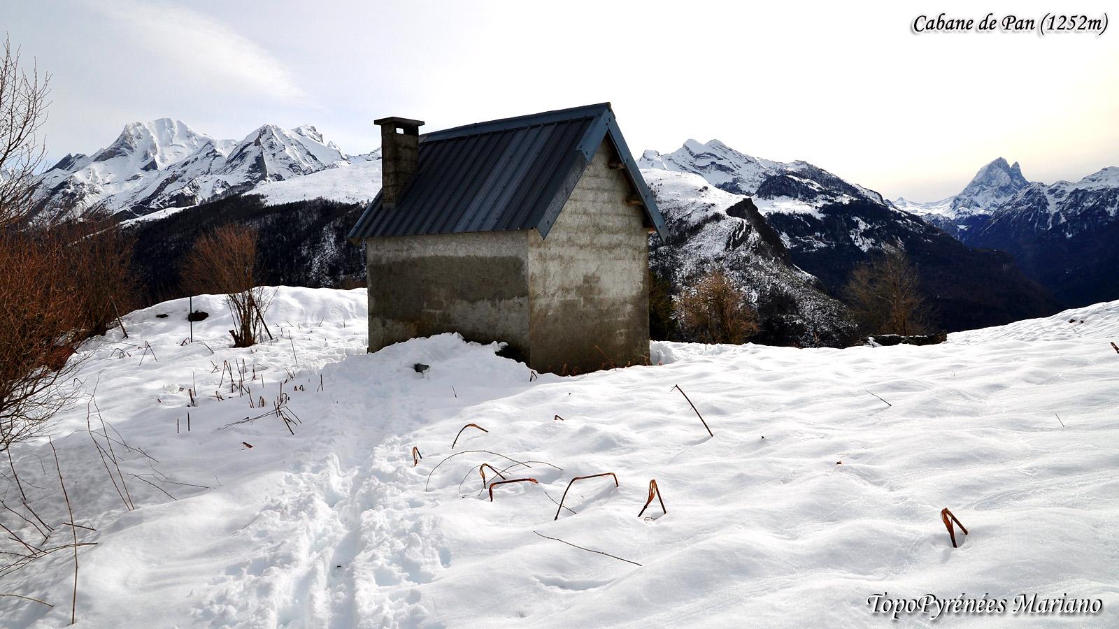 Randonnée Cabane de Pan (1252m)