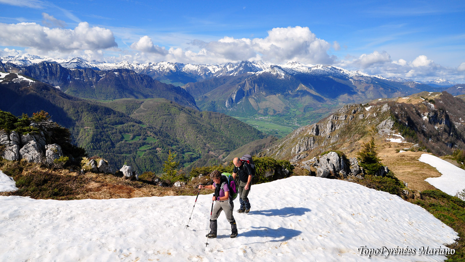 Randonnée sommet de Houndarète (1695m) et Cabane de Bésur (1661m)