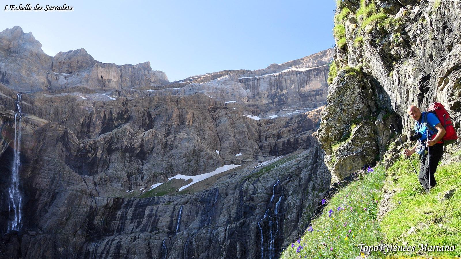 Randonnée Echelle des Sarradets (2589m)