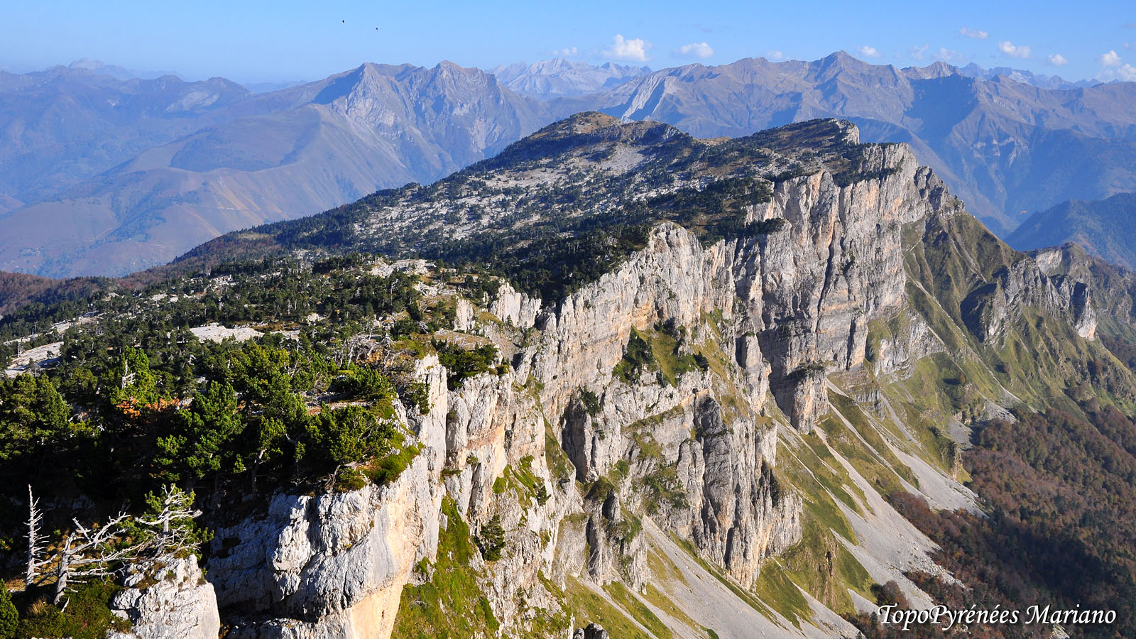 Randonnée Tour des Orgues de Camplong (2038m)