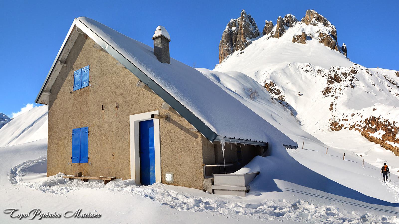 Raquettes cabane d'Ibech (1443m)