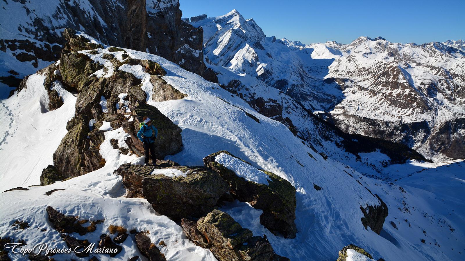 Raquettes Hourquette d'Alans (2430m)